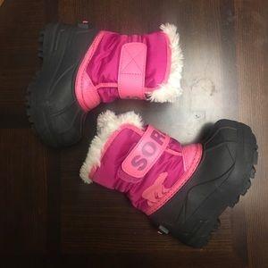 NWOB**SOREL Snow Commander Toddler Boot